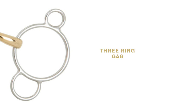 Three ring gag