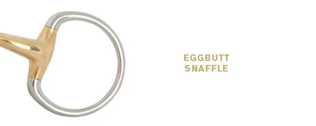 Eggbutt snaffle